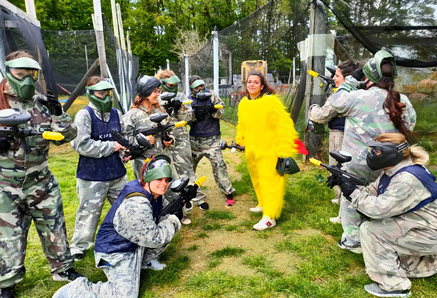 EVF paintball acting loisirs